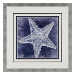Paragon - Ocean Blue I - Framed Art - Each product is custom made upon order so there might be small variations from the picture displayed. No two pieces are exactly alike.