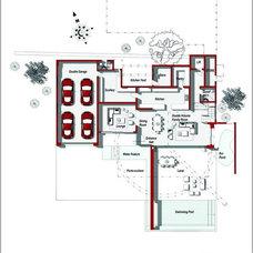 Contemporary  by Nico van der Meulen Architects