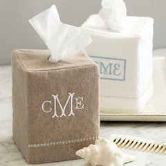 modern bath and spa accessories by Pottery Barn