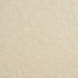 Off White Natural Textured Woven Paisleys Upholstery Fabric By The Yard - Naturally colored upholstery fabrics are warm and inviting, which make this an excellent choice for any room! Of course, this fabric is excellent for correlating with other furniture.