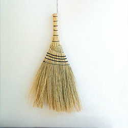 Japanese Grass Broom - A grass broom is a classic design that has cleaned millions of houses around the world. I definitely trust in its cleaning capability, and I always keep one at home. Hint: These brooms are perfect for cleaning carpets.