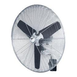 "VENTAMATIC LTD - HVWM30 30 In. Oscill Wall Fan - 30"" Oscillating Wall Mount Fan"