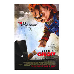 Child's Play 5: Seed of Chucky 27 x 40 Movie Poster - Style B - Child's Play 5: Seed of Chucky 27 x 40 Movie Poster - Style B Brad Dourif, Jennifer Tilly, Billy Boyd, Debbie Lee Carrington, Stephanie Chambers, Tony Gardner, Shannon Munsey, John Waters.
