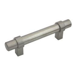 "Cosmas - Cosmas 161 Series Satin Nickel European Bar Pulls, 3"" Hole-Spacing - Manufacturer: Cosmas"