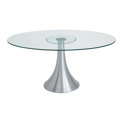 Satellite Oval Dining Table