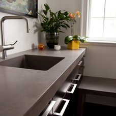 Contemporary Kitchen Countertops by JM Lifestyles