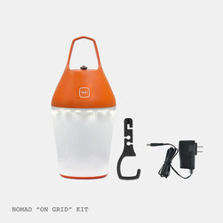 O'Sun Nomad Lamp On-Grid - The Nomad Lamp offers the flexibility of a rechargeable solar lamp with a contemporary appearance and an ecological dimension.