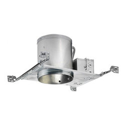 """Juno Lighting - ICPL613E 6"""" IC Rated New Construction Housing - 13W Vertical CFL - Housing only.  Trim and bulb sold separately."""