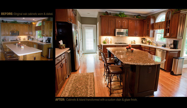 Traditional  by Creative Cabinets and Faux Finishes. LLC
