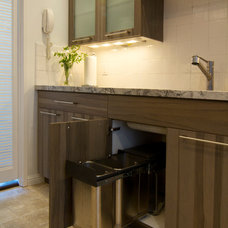 Contemporary Kitchen by Valet Custom Cabinets & Closets