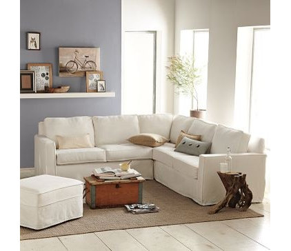 Eclectic Sectional Sofas by West Elm