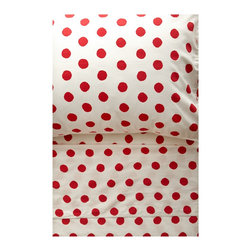 Polka Dot Sheet Set - A polka dot sheet set is so fun and whimsical, which makes it perfect for a kids' space.