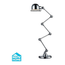 HGTV - HGTV Home Functional Floor Lamp - Height: 12""