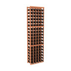 Wine Racks America - 5 Column Standard Wine Cellar Kit in Redwood, (Unstained) Redwood - Don't let that great bottle get away! Snap it up and store in this easy-to-assemble wine cellar. It's made of redwood, available in your choice of colors and finishes and, thanks to savvy modular design, it's expandable to accommodate your growing collection. Cheers!