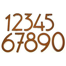 Contemporary House Numbers by Lumens