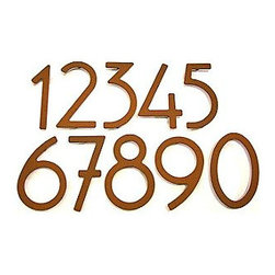 House Numbers by HouseArt - Kick up your home's curb appeal with a new set of house numbers. Look for a set that accents the style of your house (these would look great on a bungalow) and choose bigger numbers for the most impact.