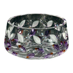 Dale Tiffany - New Dale Tiffany Bowl Purple DY-442 - Product Details