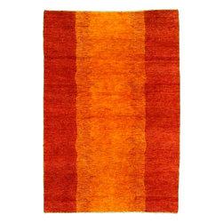 eSaleRugs - 3' 11 x 5' 11 Kashkuli Gabbeh Persian Rug - SKU: 22139867 - Hand Knotted Kashkuli Gabbeh rug. Made of 100% Hand Spun Wool. Brand New.