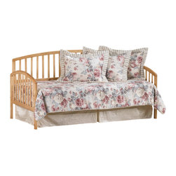 Hillsdale Furniture - Hillsdale Carolina Daybed in Country Pine - Beautifully understated, the Carolina daybeds are a lovely addition to any home. The simple styling and choice of finishes offers versatility, complimenting any decor.