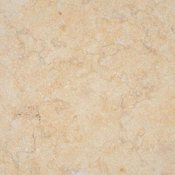 Luxor Gold Brushed Limestone Tile - Available in Brushed and Honed Finishes.