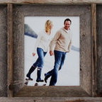 MyBarnwoodFrames - Collage Picture Frame 8x10 With 5 Openings, Barnwood - A  collage  picture  frame  is  the  perfect  way  to  showcase  several  favorite  photos  at  once,  and  our  8x10  collage  frame  with  five  (5)  openings  makes  it  possible  for  you  to  create  a  combined  display  of  5  8x10  photographs  or  art  pieces  all  at  the  same  time.  Crafted  from  rustic  barnwood  (reclaimed  wood),  this  sturdy  frame  is  built  to  last  a  lifetime.  Here's  a  unique  gift  for  mom  or  grandma  who  has  lots  of  photos  and  nowhere  to  hang  them  all.          Product  Specifications:                  Each  opening  accommodates  one  8x10  photograph              Frame  can  hang  horizontally  or  vertically,  so  you  can  install  your  photos  in  portrait  or  landscape  orientation              Exterior  Frame  Dimensions:  Approximately  56  inches  wide  by  14  inches  high  by  1.75  inches  deep              Materials:  Reclaimed  wood  (barnwood)              Glass  and  hanging  hardware  are  included              Made  in  USA              We  use  100%  reclaimed  wood  so  this  is  the  perfect  frame  for  your  eco-friendly  home.  We  like  this  frame  because  its  simple  lines  and  rustic  texture  make  it  a  great  addition  in  dozens  of  different  design  settings.  You  can  frame  five  of  your  favorite  family  photos  from  the  beach,  as  we  have  done  here,  or  you  can  mix  and  match  scenes  from  5  different  favorite  vacations  or  even  combine  different  family  groups.  The  rustic  natural  wood  creates  a  homey  addition  to  your  western  decor,  to  your  lodge  or  cabin,  or  right  on  your  living  room  wall.          Each  collage  picture  frame  can  hang  horizontally  or  vertically.  Add  one  of  our  unique  iron  picture  frame  rods  for  an  extra  touch  of  class.  A  collage  8x10  picture  frame  with  multiple  openings  allows  you  to  display  all  of  you  favorites  in  one  place.  But  that's  not  all  you  can  do  with  a  barnwood  collage  frame:                  A  five-opening  collage  frame  can  hold  five  school  photos,  so  you  can  see  your  child's  growth  right  before  your  eyes.              A  multi-opening  frame  has  space  for  a  wedding  photo  of  each  child  in  the  family.              Frame  something  completely  unconventional,  like  five  pieces  of  Grandma's  antique  jewelry  (just  remove  the  glass).              Put  something  identical  in  each  opening  for  a  fun  and  whimsical  wall  hanging.   Five  rubber  duckies  would  be  fun  as  a  bathroom  wall  hanging.  You  could  put  an  illustration  of  five  different  kinds  of  trucks  or  five  pieces  of  firefighting  gear  in  a  boy's  bedroom.  Or,  create  a  series  of  adorable  bugs,  flowers  or  butterflies  to  hang  above  your  daughter's  closet.              Find  more  Collage  Picture  Frames  here.