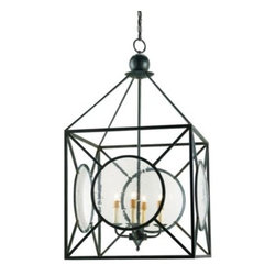 Beckmore Lantern by Currey and Company -