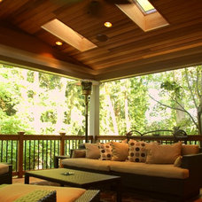 Traditional Patio by Kaufman Homes, Inc.