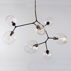 eclectic chandeliers by Matter