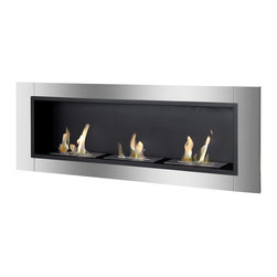 IGNIS - Ignis Bio Ethanol Fireplace Ardella with Safety Glass - *Design Patent Pending - 29/469,483