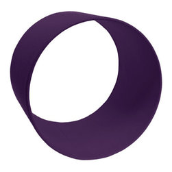 The Felt Store - Wool Felt Circle Shelf - 12 x 8 Inch Dark Purple - The Felt Store's circles shelves provide a lovely way of showcasing small collectables and adding a splash of colour to the home. Pick and choose from a variety of colours and sizes to create your own wall designs. Each circle is encased in our 100% Wool Felt, an eco-friendly high quality felt. For wall installation simply nail or screw two nails at the 150 and 30 degree position of where the circle will be placed. Use individual circles or create a cluster of colours for visual impact. Each circle measures 12 inches in diameter and is available in three depths:  4 inch, 6 inch, and 8 inch. Our felt clocks are sized to fit snug in these circle shelves.