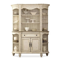 Riverside Furniture - Coventry Two Tone Server with Hutch - Server: