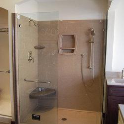Showroom - Onyx Shower with Basco Door