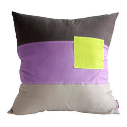 Blancho Bedding - Square Feeling Knitted Fabric Patch Pillow Floor Cushion  19.7 by 19.7 inches - Aesthetics and Functionality Combined. Hug and wrap your arms around this stylish decorative pillow measuring 19.7 by 19.7 inches, offering a sense of warmth and comfort to home buddies and outdoors people alike. Find a friend in its team of skilled and creative designers as they seek to use materials only of the highest quality. This art pillow by Onitiva features contemporary design, modern elegance and fine construction. The pillow is made to have invisible zippers, knitted fabric shells and fill-down alternative. The rich look and feel, extraordinary textures and vivid colors of this comfy pillow transforms an ordinary, dull room into an exciting and luxurious place for rest and recreation. Suitable for your living room, bedroom, office and patio. It will surely add a touch of life, variety and magic to any rooms in your home. The pillow has a hidden side zipper to remove the center fill for easy washing of the cover if needed.