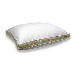 Simmons Beautyrest - Beautyrest 300 Thread Count Bed Pillow - Indulge in the perfect nights sleep with this silk and cotton bed pillow. Featuring a luxuriously soft exterior and a firm support to relieve pressure around your head and neck,this elegant accessory will add the finishing touch to your bedroom decor.
