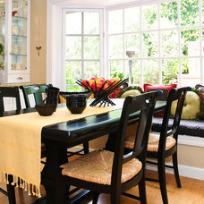 Traditional Dining Room by KK Design Koncepts