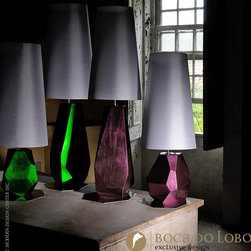 Boca do Lobo Feel Table Lamp Coolors Collection - Boca do Lobo Feel Table Lamp Coolors Collection