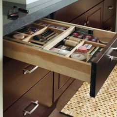 contemporary bathroom vanities and sink consoles by MasterBrand Cabinets, Inc.
