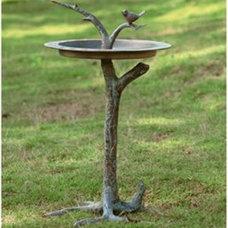 Modern Bird Baths by Hayneedle