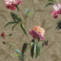 York Wallcoverings - GN2428 Wallpaper, Sample - Prepasted: Paste has already been applied to the back of the wallpaper and is activated with water.