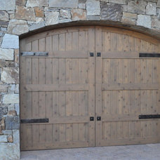 Traditional Garage Doors And Openers by Grizzly Iron, Inc