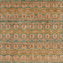 Showroom Products - Chic has captured the brilliant colors of nature, azure blue skies, glacial lakes, snow capped mountains and highland meadows flowers. The Chic design pays homage to the ancient craft of woven Kashmir shawls by interpreting these classic designs into today's fashion forward colors. Chic  is made from the finest blends of long staple lustrous wools from New Zealand, Argentina and India with a sumptuous textural finish.  THIS RUG IS OFFERED IN A VARIETY OF COLORWAYS. Click link for more options.