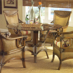 Rattan and Wicker Dining Sets -