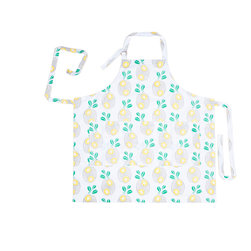 Working Class Studio - Savannah Paisley Collection - Pineapple - Apron - Juice up your kitchen style with this perky pineapple print apron that reinvents paisley with a fresh, tropical twist. The apron is washable cotton twill and includes three front pockets. Perfect for Southern coastal settings, tropical decor styles or any kitchen that could use a cute and colorful modern print.