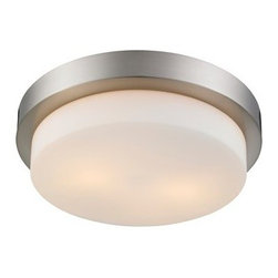Golden Lighting - Golden Lighting 1270-13 Multi-Family 2 Light 13in Wide Flush Mount Ceiling Fixtu - Features: