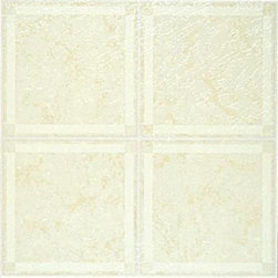 "NATIONAL BRAND ALTERNATIVE - Floor Tile No Wax Self Stick 12"" x 12"" Beige - Features:"