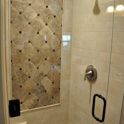 Marble Shower -