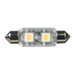 Sea Gull Lighting - 24v LED Frosted Festoon bulb - 3000K 5-Pack - Ambiance Lx 24V LED Frosted Festoon bulb - 3000K 5-Pack (Equivalent to 5w Xenon)