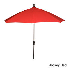 Phat Tommy - Phat Tommy 9-Foot Aluminum Market Sunbrella Umbrella - This high quality aluminum umbrella features fiberglass ribs and Sunbrella fabric. Made with Sunbrella Fabric,this umbrella will give you years of trouble free use.