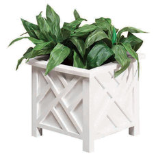 traditional outdoor planters by Sears