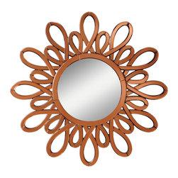 Kichler Lighting - Kichler Lighting Spice Modern/ Contemporary Round Wall Mirror X-54187 - Kichler Lighting Spice Modern / Contemporary Round Wall Mirror X-54187